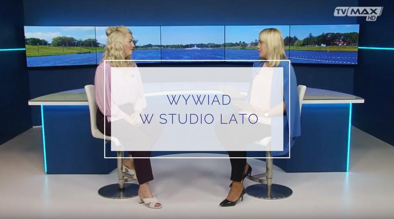 Wywiad w Studio Lato w TV MAX